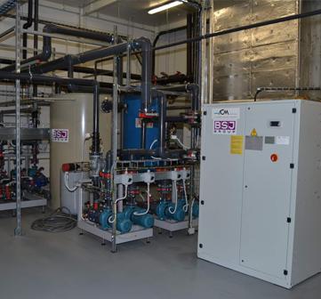 EPT connector v Habartově – dodávka strojního chlazení.