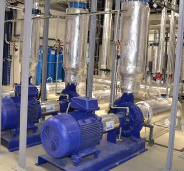 Kiswire Louny – dodávka a montáž suchých chladičů a strojovny čerpadel.