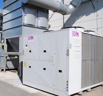 NOVEM Město Touškov – dodávka strojního chladiče.