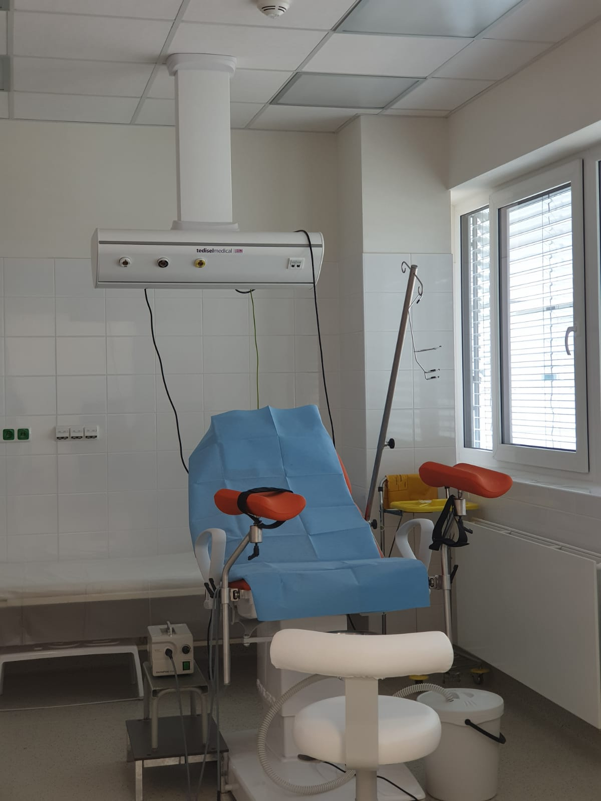 Nemocnice Český Krumlov - Multifunkční pavilon. Realizace 2018