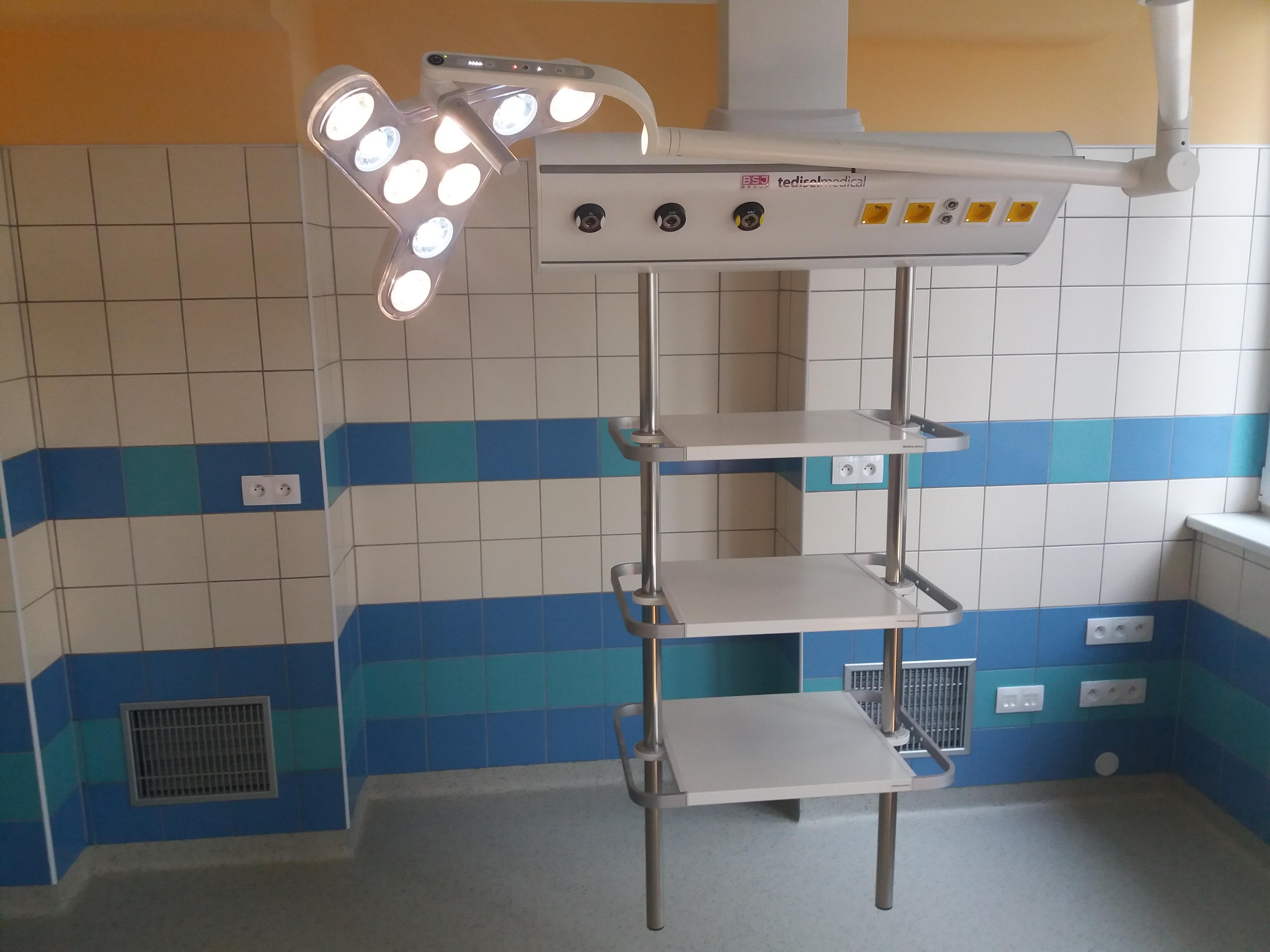 Nemocnice Znojmo - Infekční oddělení. Realizace 2019